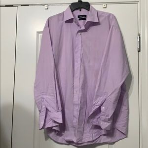 Lavender button down